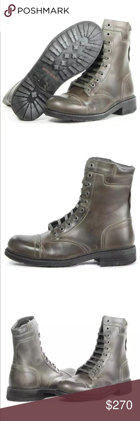 Diesel boots Brand new in box Cassidy boots size 10 Diesel Shoes Boots