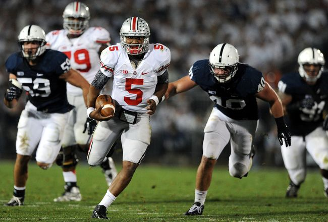 PENN STATE – FOOTBALL 2012 – Rivals will reunite in Columbus, Ohio this Saturday when the No. 4 Ohio State Buckeyes host the Penn State Nittany Lions for a prime-time Big Ten matchup.
