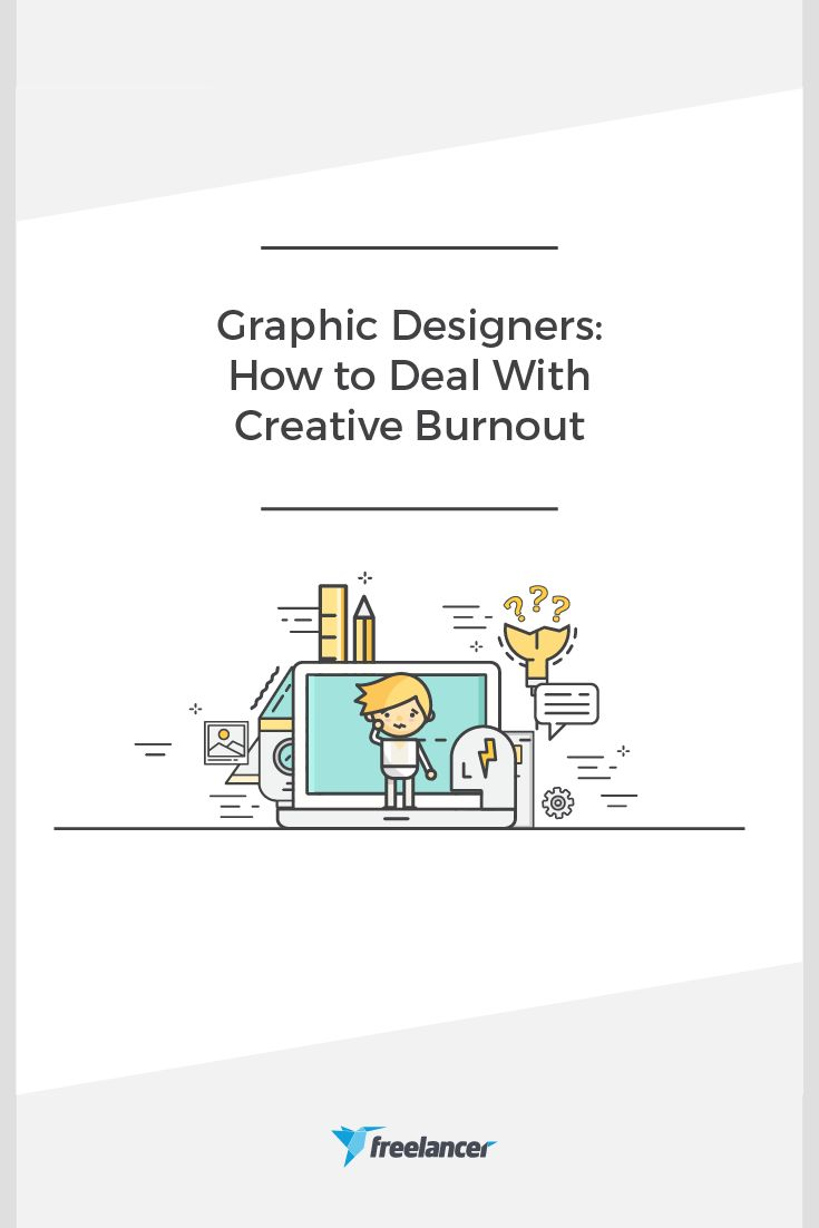 Wish I had read this when I was working as a freelance designers! Creative Burnout is the worst!
