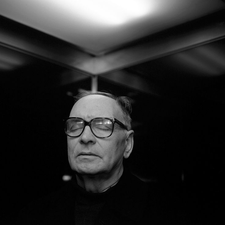 [Ennio Morricone (1928) - Italian composer, orchestrator, conductor and former trumpet player. Photo © Dominik Gigler]