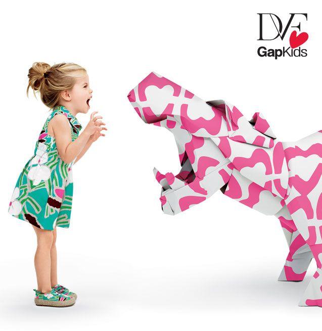DVF Gap toddler girl