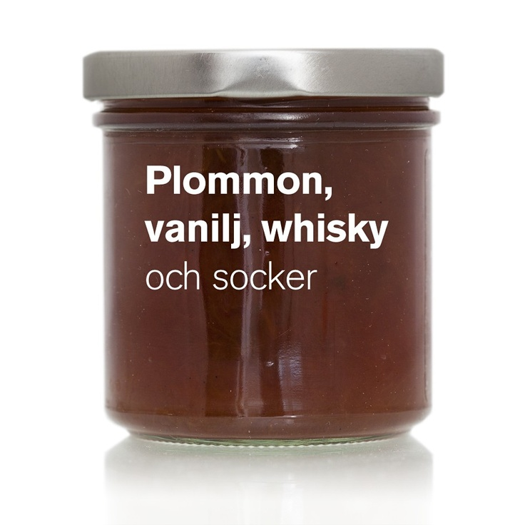 Plommon, vanilj, whisky (KT 07) via ÄKTA SYLT . Click on the image to see more!