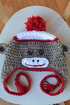 Sock Monkey Hat Pattern
