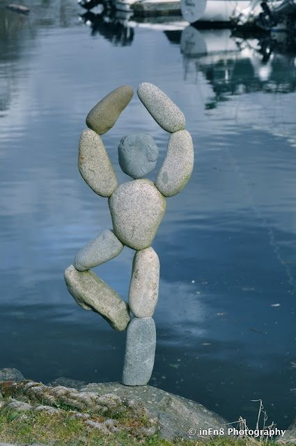 Beautiful Pebble/Stone Art at Winslow Wharf Marina @ its-a-green-life