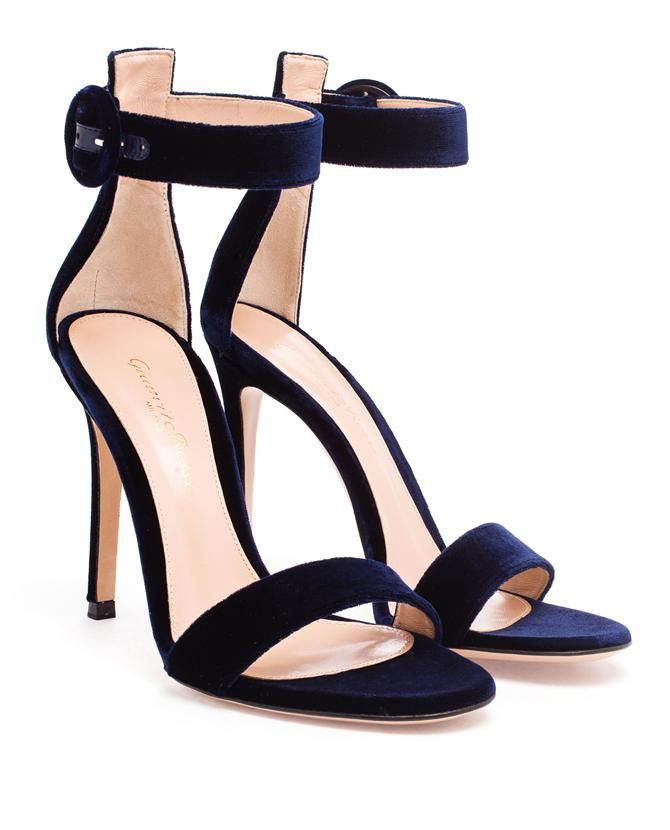 Gianvito Rossi Portofino Floral Ankle-Wrap Sandal HTf3b7590p