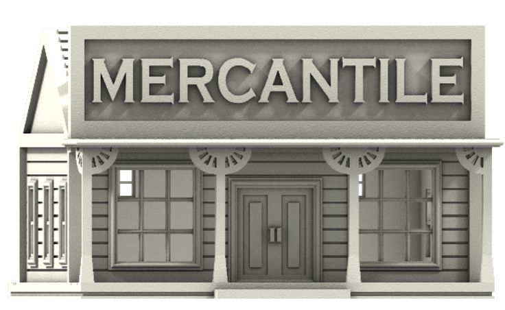 17 best wild west scenery n scale model trains images on pinterest mercantile n gauge building old west scenery fandeluxe