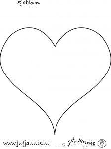 sjabloon hart