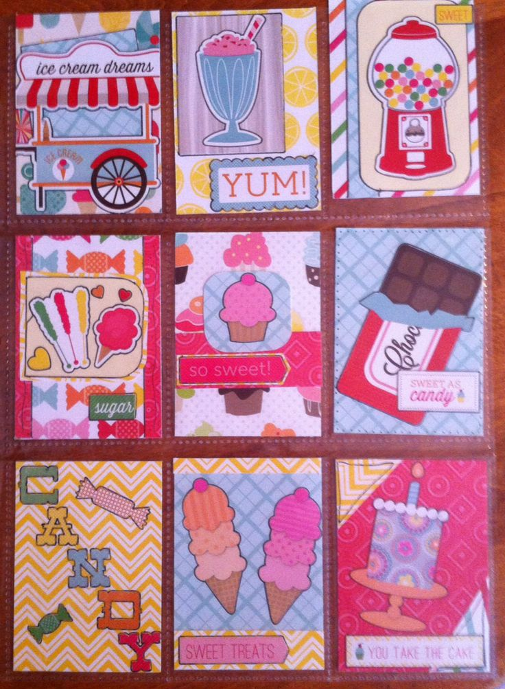 Candy themed pocket letter-Sarah Green