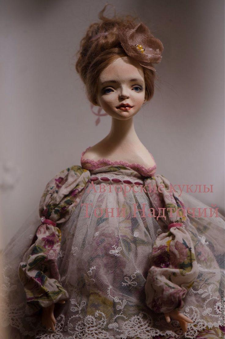 """Купить Авторская подвижная кукла """"Джульетта"""" - авторская ручная работа, авторская кукла, авторская игрушка"""