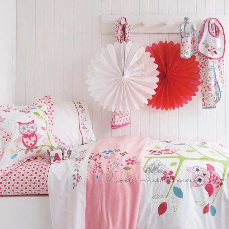 Love This Bedding For A Little Girl For The Home
