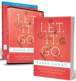Let it Go.  A book about letting go of your need for control. #books, #encouragement, #gifts