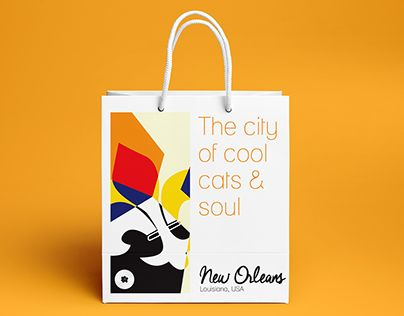 """Check out new work on my @Behance portfolio: """"New Orleans City Branding"""" http://be.net/gallery/38019541/New-Orleans-City-Branding"""