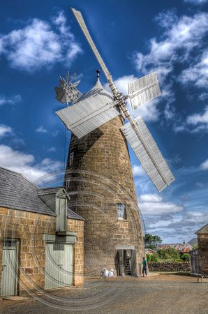 Working Flour Mill- Launceston, Tasmania, Australia. Awesome place to travel... cleanest air on earth... photography images for education