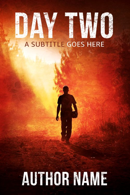 25 best art my premade book covers images on pinterest cover premade thriller post apocalyptic apocalypse dystopian cover day two now fandeluxe Gallery