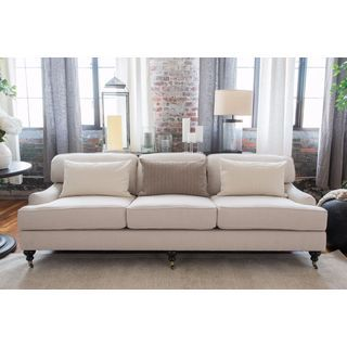 Shop For Elements Fine Home Furnishings Saint Tropez Seashell Colored Sofa.  Get Free Shipping. Furniture OutletOnline ...