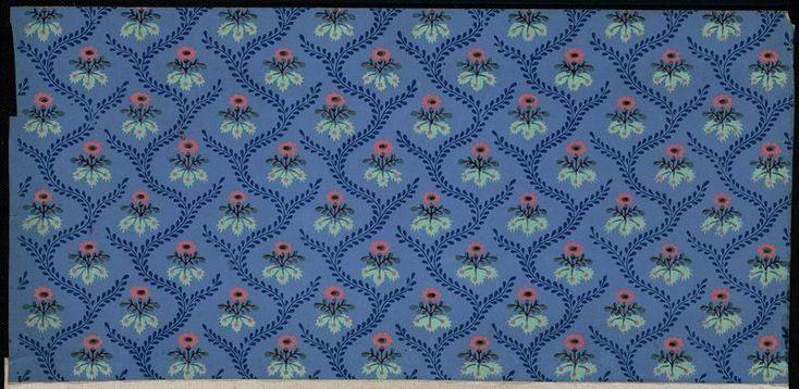 Semis de fleurettes, résille de feuillage - référence n° 737 | Centre de documentation des musées - Les Arts Décoratifs