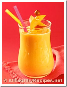 Honey Mango Smoothie Recipe | Food :) | Pinterest