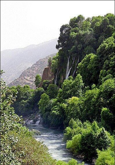#آبشار بیشه - نگین گردشگری زاگرس - استان لرستان️