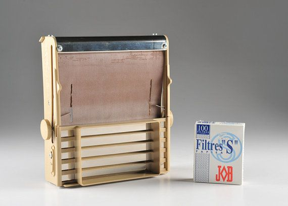 RYO Cigarette Rolling Machine Filtermatic and by VintagebyViola