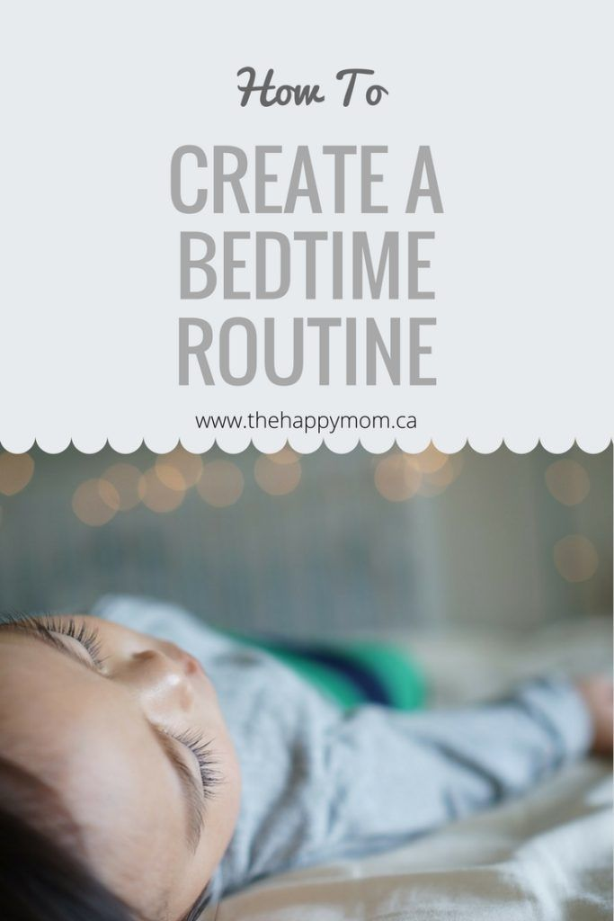 Bedtime, Routine, Toddler, Baby, Infant, Create, Develop