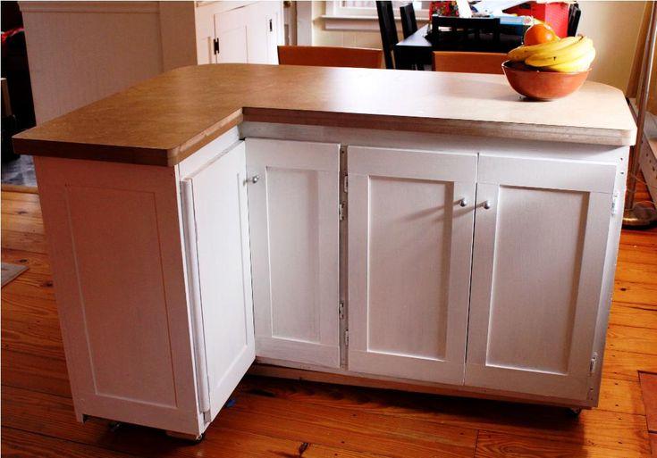 25 best cheap kitchen islands ideas on pinterest cheap for Cheap kitchen cart ideas