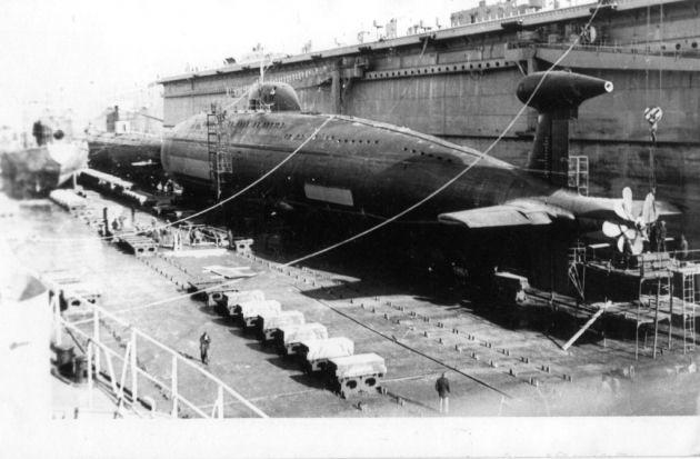 Иллюстрация к новости «Такая вот проктология»: как советская подлодка таранила авианосец США