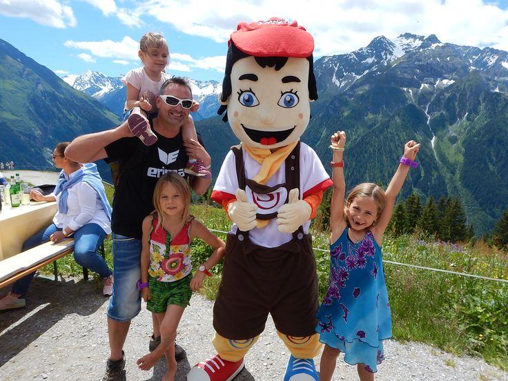 Kids havin's fun in the mountains of Tyrol @ STOCK resort, Zillertal, www.stock.at
