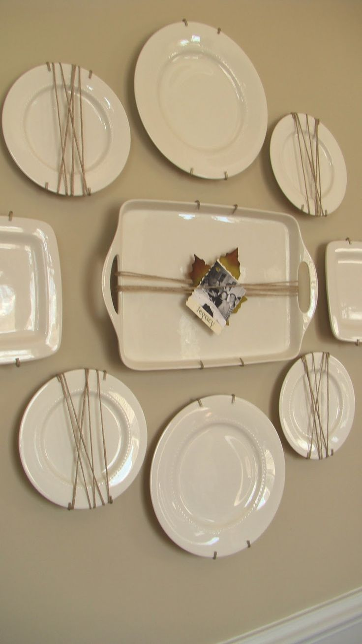 Plate Wall Decor 212 best home decor - plates, platters, trays images on pinterest