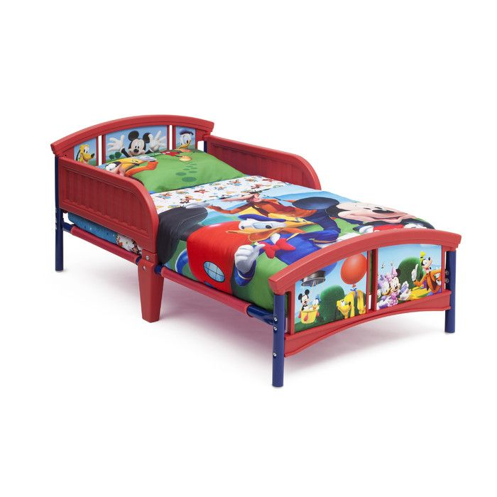 Delta Children Mickey Mouse Convertible Toddler Bed & Reviews | Wayfair