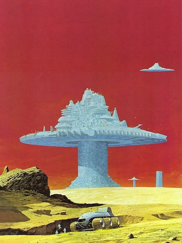 """Angus McKie. From the """"Terran Trade Authority Handbook: Spacecraft 2000 to 2100 AD"""" by Stewart Crowley, 1978.  (I remember the very day I got this book in '78! And I would reference it for many years afterward.)"""