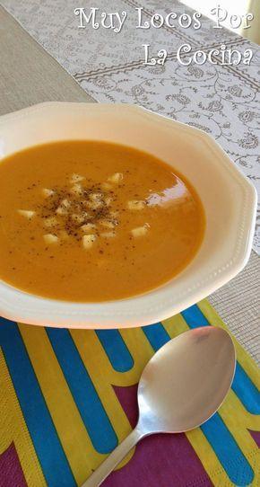 Twittear Esta es una sopa con textura cremosa muy reconfortante que sienta fenomenal en los días fríos de otoño e invi...