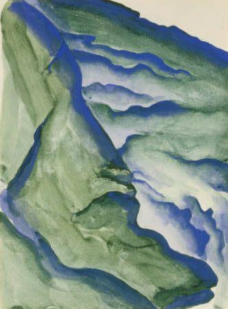 Georgia O'Keeffe, Peruvian Landscape, 1956/57