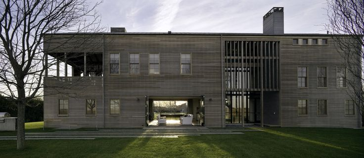 Louver House by Leroy Street Studio Features Slatted Timber Facades