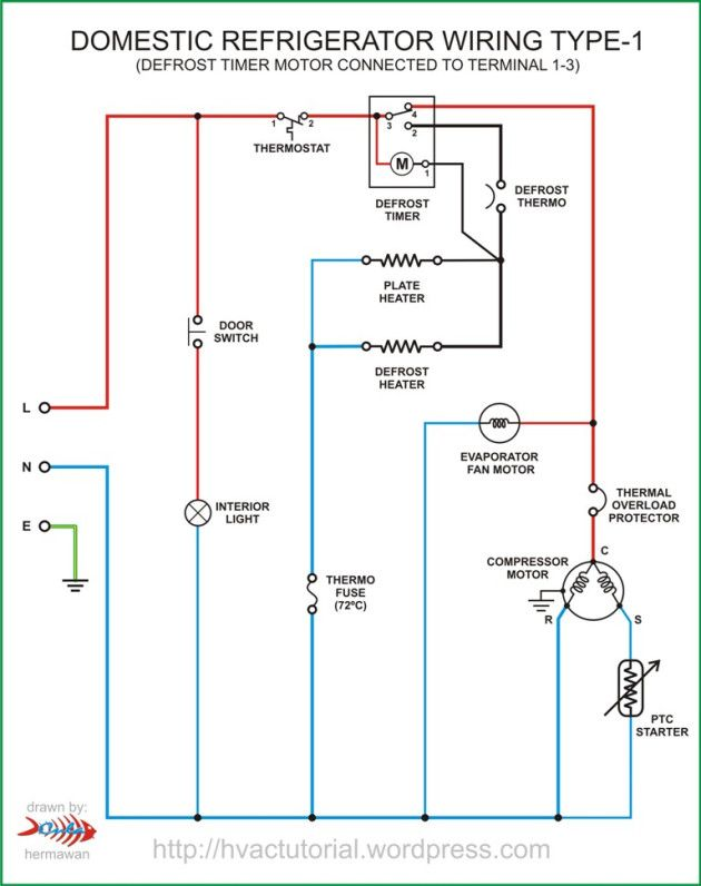 Domestic Refrigerator Wiring With Images Circuit Diagram