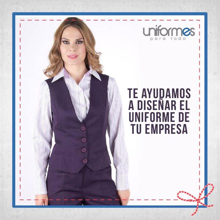 Dale un giro a la imagen de tu empresa. ¡Contáctanos y te ayudamos a diseñar tu nuevo uniforme!. #UniformesParaTodo #Empresa #Marca #Dotación  www.uniformesparatodo.com
