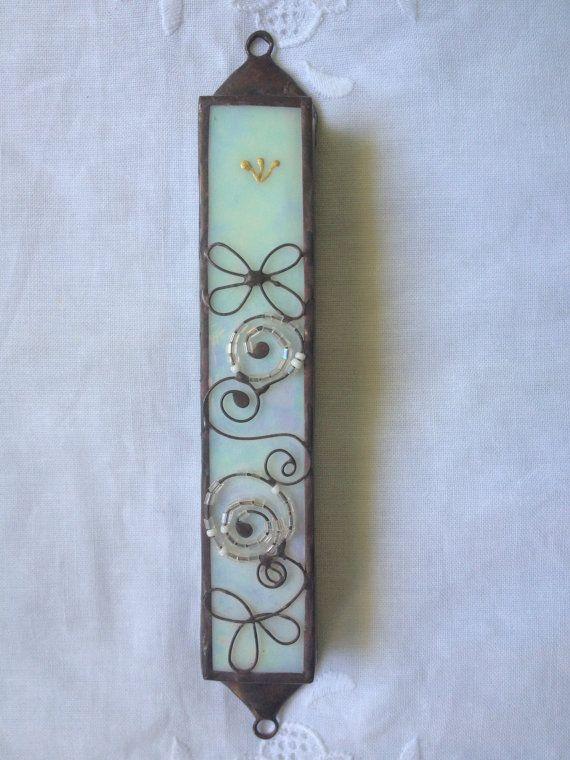 MEZOUZA fait à la main étui spécial couleur par PaulaEthnicGlass