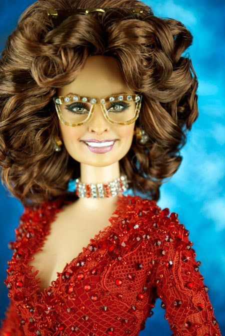 new barbie collection 2016 | How cool are those bejeweled glasses! But what is even more cool is ...