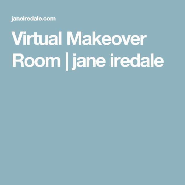 Virtual Makeover Room | jane iredale