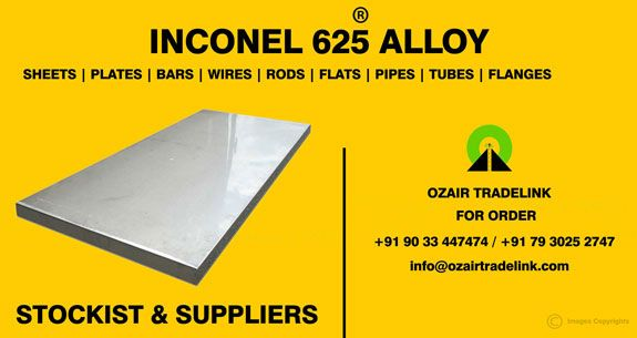 INCONEL Alloy 625 - Inconel Alloy 625 is a corrosion and oxidation resistant nickel alloy that is used both for its high strength and outstanding aqueous corrosion resistance.
