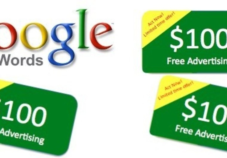 Ching Ching! give you 2x100 US dollars and 2xVCC for Adwords on fiverr.com