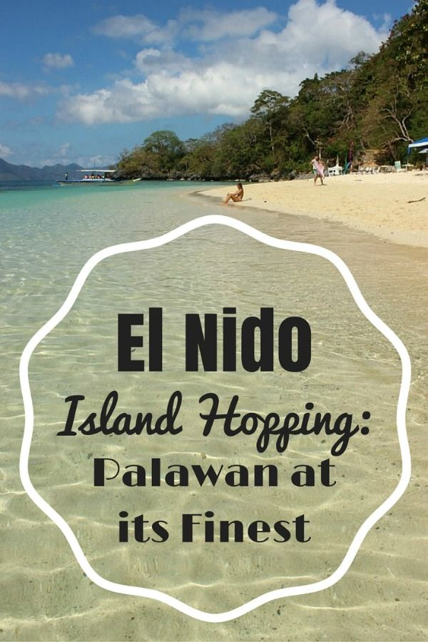 Although El Nido is beautiful, people come here to do the El Nido island hopping tours in the Bacuit Archipelago - they are the real stars of Palawan