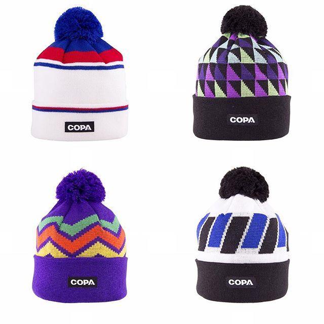 ce53371e Can you name the kits that inspired the latest collection of @copafootball  bobble hats?