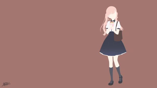 Sanada Ririna Koi To Uso Minimalist By Nuralifsidoel Anime Funny Koi Anime
