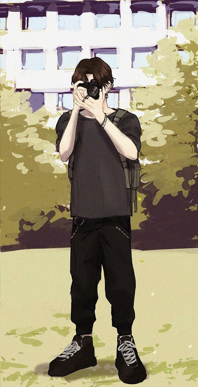 Jk Jungkook Bts Anime Anime Bts Fanart Student Art