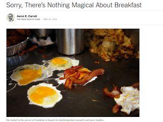 Professor Adolfo Neto: Não há nada de mágico sobre o café da manhã