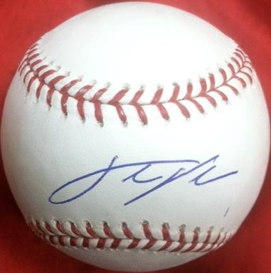 Justin Verlander Detroit Tigers Autographed Baseball