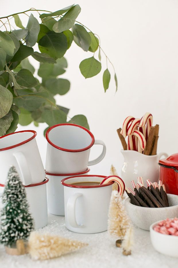 Add a Touch of Charm when Serving Your Holiday Coffee
