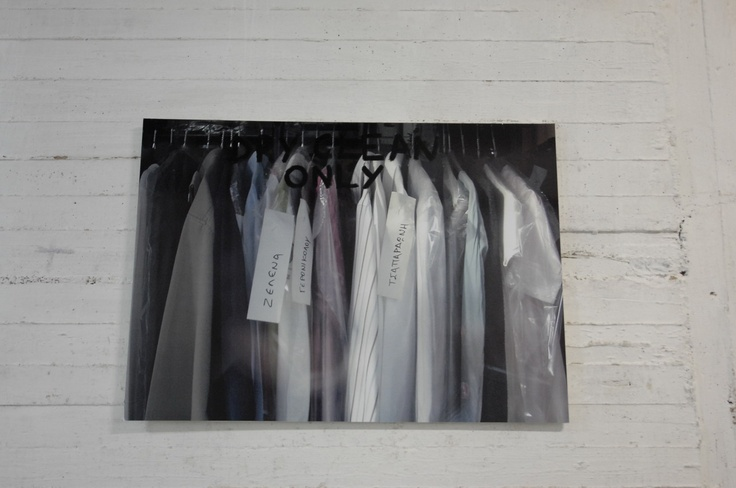 """""""dry'clean'only"""", mixed media, 2008"""