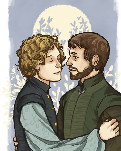 Loras and Renly by knightofbunnies on tumblr