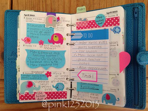 Filofax/Planner inspiration [I have master my Lilly planner before I can move on to a filofax]